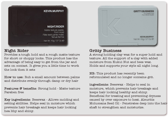 Kevin Murphy Night Rider & Gritty Business